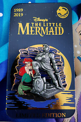 Disney Ariel Prince Eric Statue Little Mermaid 30th Anniversary AP Pin LE 5000