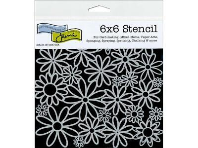 CRAFTER S WORKSHOP THE TCW500S  THE CRAFTERS WORKSHOP STENCIL 6X6 NAUTILUS