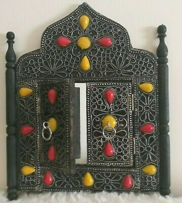 Rare Ancient Viking Wall Mirror Artifact Authentic Norse Medieval Home Decor Art