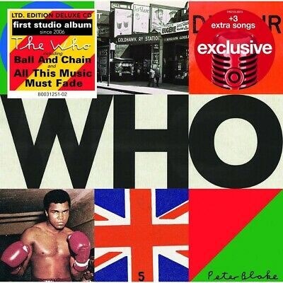 THE WHO Who LIMITED EDITION EXPANDED DELUXE TARGET CD 3 BONUS TRACKS