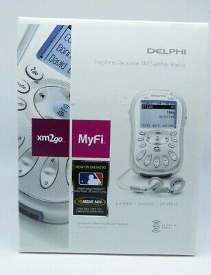 DELPHI the first personal XM Satellite Radio