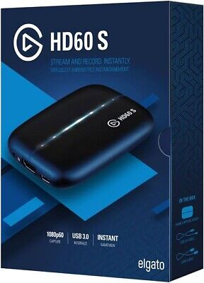 Elgato Game Capture HD60 S 1080p HDMI Recorder
