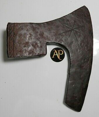 Extremely Rare Anglo-Danish Battle Axe Head - Richly Ornate Decoration - V.Fine