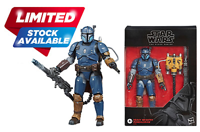 Star Wars - The Black Series Heavy Infantry Mandalorian Deluxe Action Figure 6""