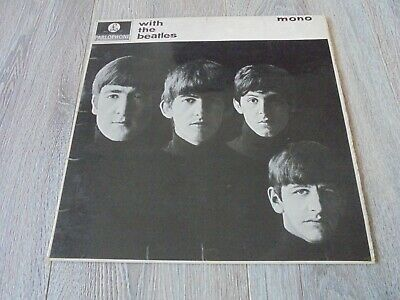 The Beatles - With The Beatles 1963 UK LP PARLOPHONE MONO