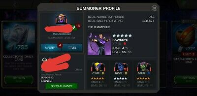 Marvel Contest of Champions mcoc Account 300k Rating
