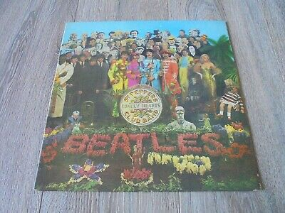 The Beatles - Sgt. Pepper's..1967 UK LP PARLOPHONE MONO 1st COMPLETE