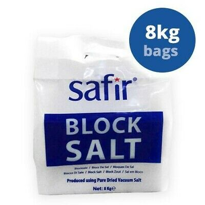 Block Salt, suitable for all block salt water softeners. 1 x 8kg pack