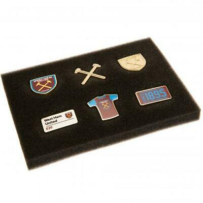West Ham United Fc Utd 6 Piece Badge Set Souvenir Lapel Pin