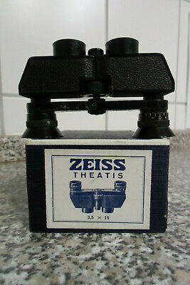 Carl Zeiss Jena Theatis , Opernglas , 3.5 x 15 in OVP