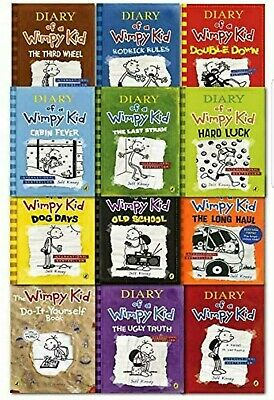 ( P.D.F) Diary Of A Wimpy Kid Collection 12 Books Set By Jeff Kinney NOT A BOOK!