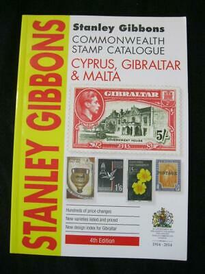 CYPRUS GIBRALTAR & MALTA GIBBONS COMMONWEALTH STAMP CATALOGUE 4th EDITION 2014
