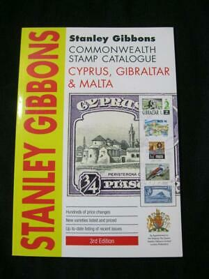 CYPRUS GIBRALTAR & MALTA GIBBONS COMMONWEALTH STAMP CATALOGUE 3rd EDITION 2011