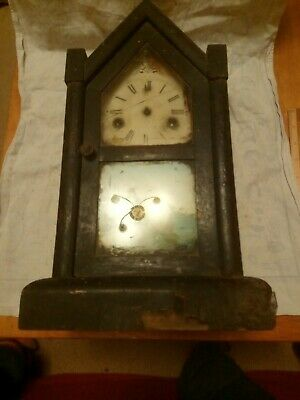 Old Clock For Spares Or Repairs