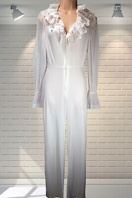 Vintage 1970s Clingy All In One Jumpsuit Hostess Nightwear FREDERICK'S HOLLYWOOD