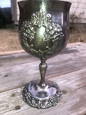 Reed & Barton KING FRANCIS 1659 (SILVERPLATE) Water Goblet