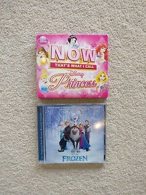 Now thats what I call Disney Princess Double Cd and Frozen Soundtrack CD Bundle