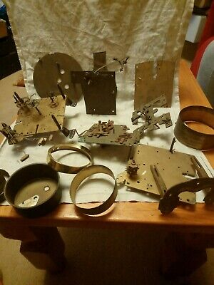 Old Clock Parts For Spares Or Repairs