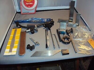 Misc . Machinists Tools /Parts Starrett, General, Craftsman  , Lufkin
