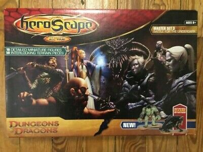 Dungeons & Dragons HeroScape Master Set 3 Battle For The Underdark 100% Complete