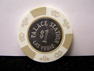 PALACE STATION $1 Casino Chip Las Vegas Nevada Excellent Condition
