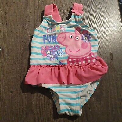 baby swimming costume 0-3 months Peppa Pig