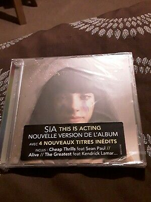 Sia this is acting deluxe CD new sealed