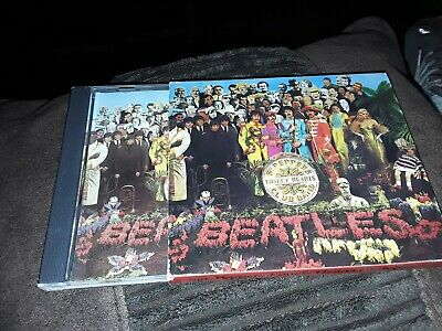 The Beatles Sgt peppers lonely hearts club band cd acceptable condition