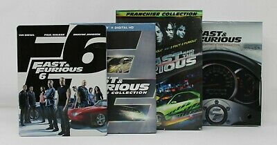 Fast & Furious Ultimate Ride Collection,7 Movie Collection & More
