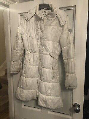 Guess Girls White Padded Coat Age 14