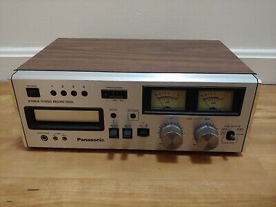 Panasonic RS-808 Vintage Stereo 8 Track Tape Player Recorder Tested Working
