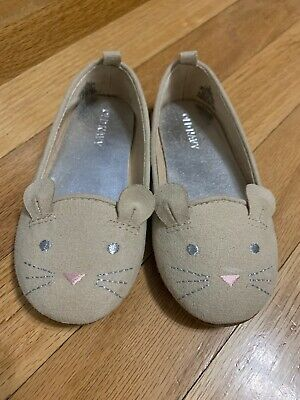 New Old Navy Baby Girls Sueded Multi-Strap Ballet Flats Shoes Size 3-6-12-18 M