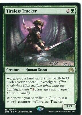 Magic the Gathering -1X  Tireless Tracker - Shadows over Innistrad - NM -