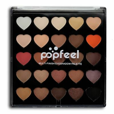 Waterproof Mineral Glitter Eye Makeup Tool Matte Eyeshadow Powder Palette