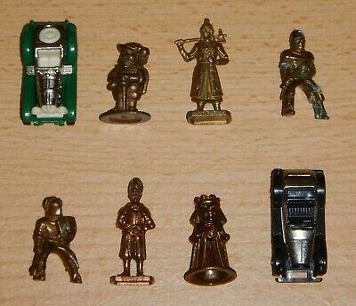 Kinder : 8 Figurines en METAL *