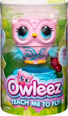 Owleez Interactive Pet - Pink / Flying Drone Helicopter / NEW IN BOX! / In Hand