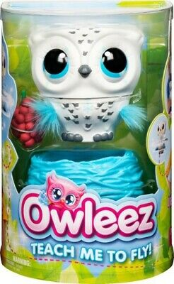 Owleez Interactive Pet - White / Flying Drone Helicopter / *Brand New & Sealed!*