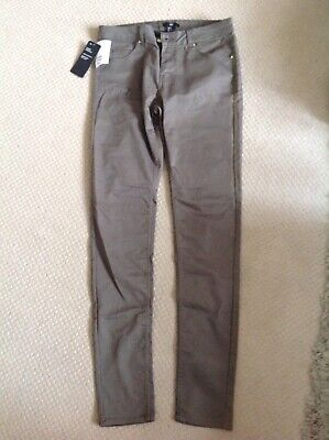 Brand New With Tags. H&m Size 12 Khaki Green Trousers Womens