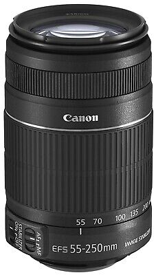 Canon EF-S 55-250mm f/4-5.6 is Image Stabilizer Telephoto Zoom Lens Used