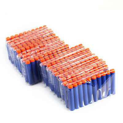 100x Refill Bullet Darts for Nerf Elite Series Blasters Toy Gun Blue USA Stock