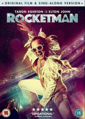 ROCKETMAN DVD - Sing Along Version - Region 2 UK - New and Sealed