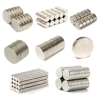 Super Strong Block Ring Round Cylinder Disc Rare Earth NdFeB Neodymium Magnets