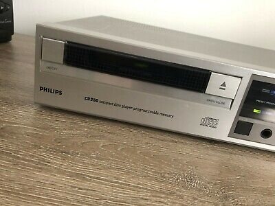 Phlips CD350 Vintage Compact Disc CD-Player.