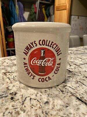 Red Wing Stoneware Crock CocaCola Collectible 1997. Iowa Chapter