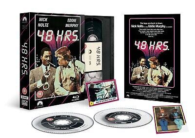 48 HRs Bluray Vhs Box Special Edition DVD Poster Ltd