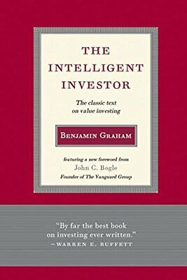 Intelligent Investor: The Classic Text on Value Investing Benjamin Graham Relie