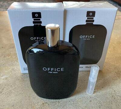 Office for Men EMPTY 1st batch bottle