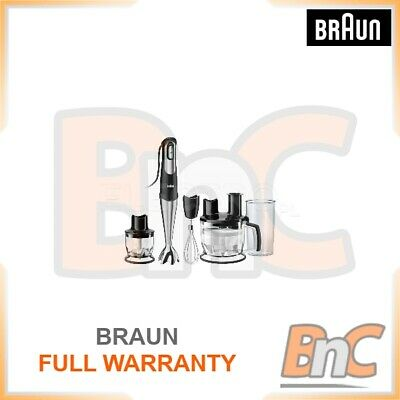 Handheld Blender Braun MQ785 Patisserie 750W Electric Mixer Smoothie Maker