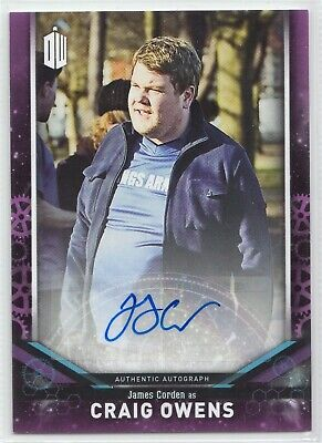 Doctor Who Signature Series 2018 James Corden as Craig Owens Autograph Card