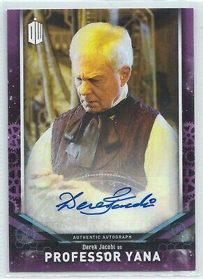 Doctor Who Signature Series 2018 Derek Jacobi as Professor Yana Autograph Card